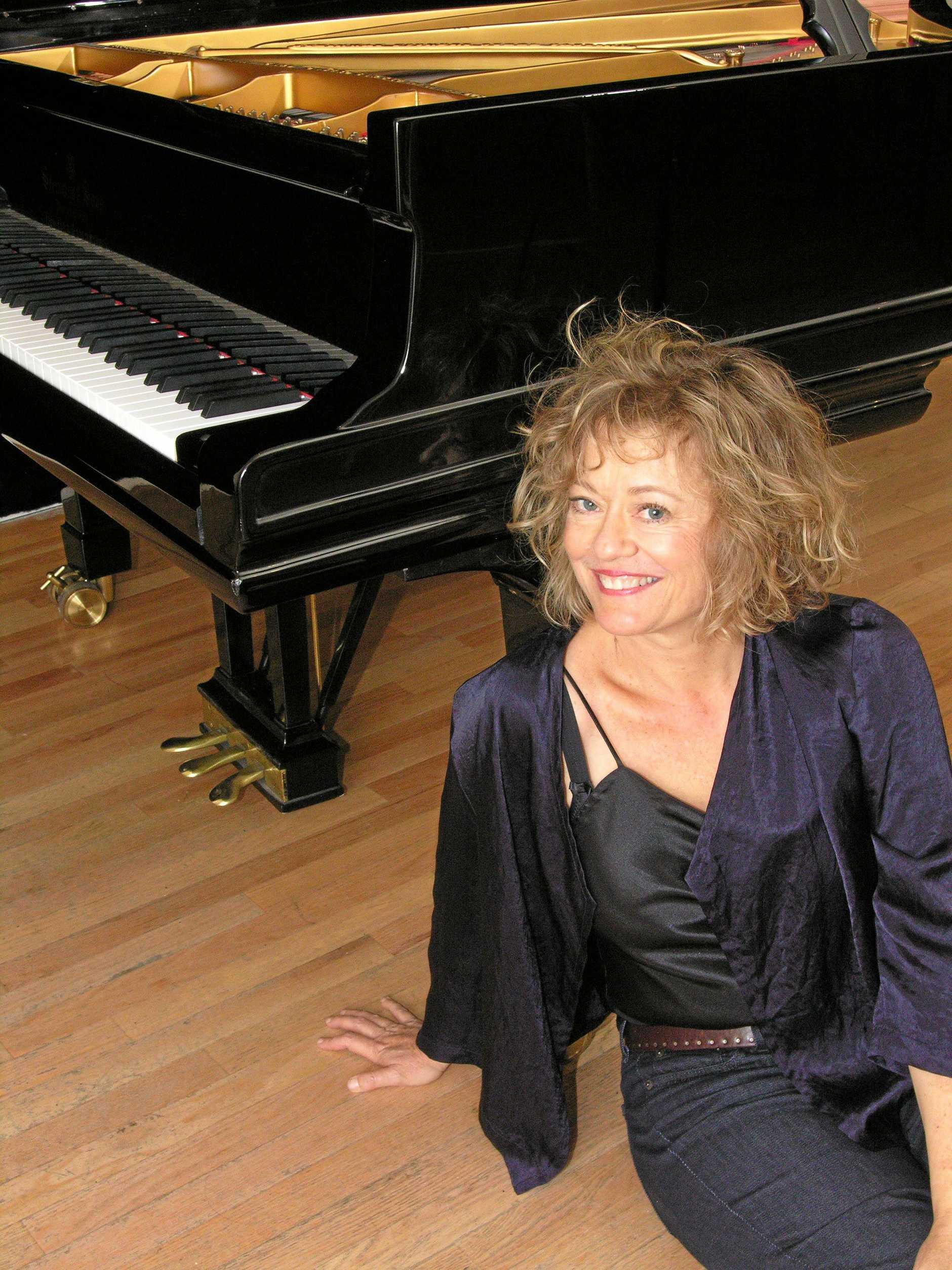 Pianist Lisa Moore.