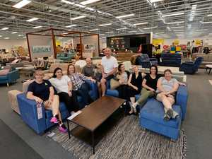 Sneak peek inside new Mackay Fantastic Furniture store
