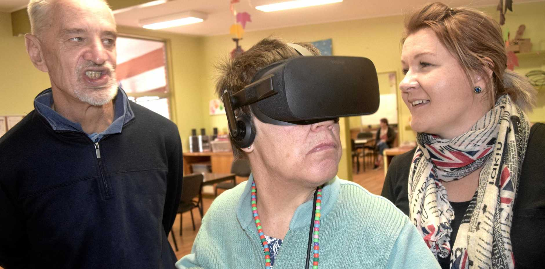 TASK AT HAND: They've tackled virtual reality and now Stanthorpe's Endeavour Foundation is taking on a fashion parade.