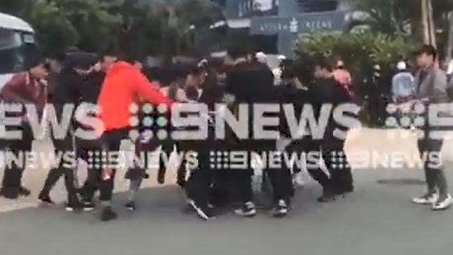 It reportedly relates to a Chinese pop star. Images: Nine Gold Coast News