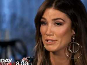 Delta Goodrem in tears over Newton-John