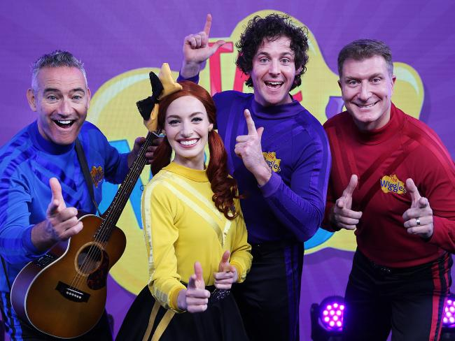 Emma Watkins split with Purple Wiggle Lachlan Gillespie after two years of marriage. Picture: Danny Aarons