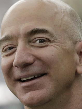 Jeff Bezos, chief executive officer Amazon. Picture: Getty
