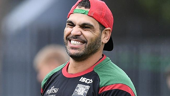 Greg Inglis is back to his best at just the right time. (AAP Image/Dan Himbrechts)
