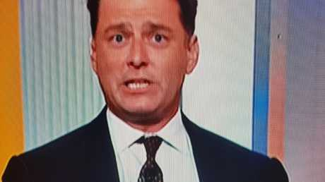 Karl Stefanovic grilled the PM this morning. Pic: Nine