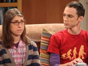 Big Bang Theory star's wardrobe malfunction