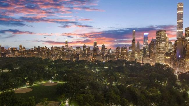 A view from the building looking over the world famous Central Park (Source: Realtor.com)