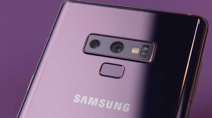 The Samsung Galaxy Note 9 is on sale for 20 per cent off at Allphones's eBay store. Picture: Jennifer Dudley-Nicholson