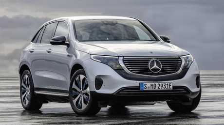 Tesla fighter: The Mercedes-Benz EQC is just the first of 10 EVs due in the next five years from the German brand.