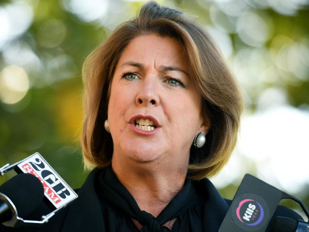 NSW Roads Minister Melinda Pavey said drivers aren't expected to slam on their breaks if it is unsafe. Picture: Joel Carrett/AAP