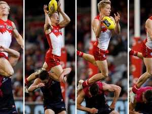 Heeney doing the work of three men