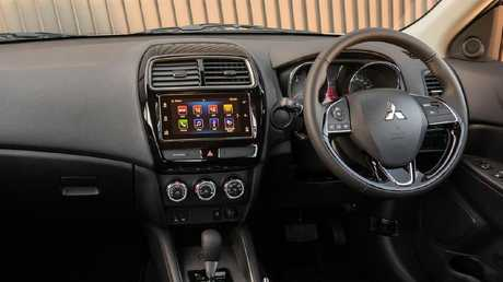 Spartan fit-out: The ASX has a functional interior.