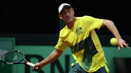 John Millman loves playing for Australia in Davis Cup. Picture: Getty Images