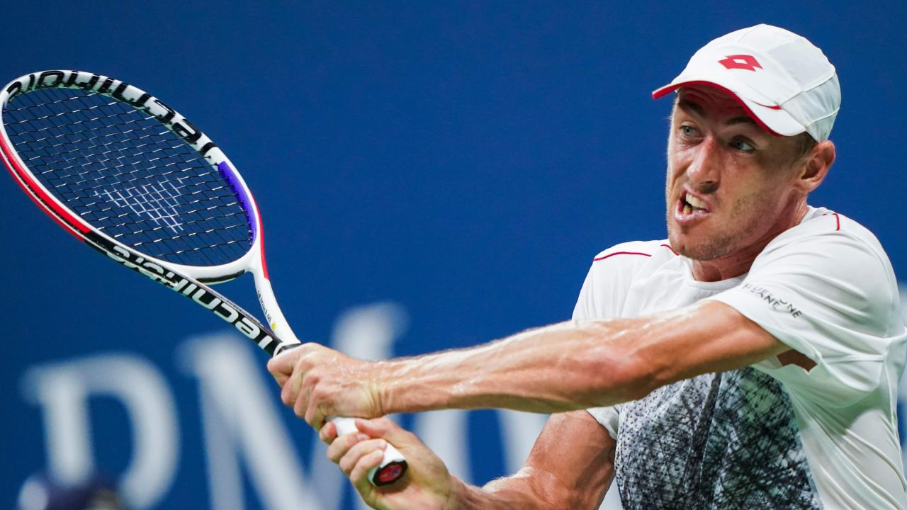 John Millman has his eyes on a place in the final four at the US Open.
