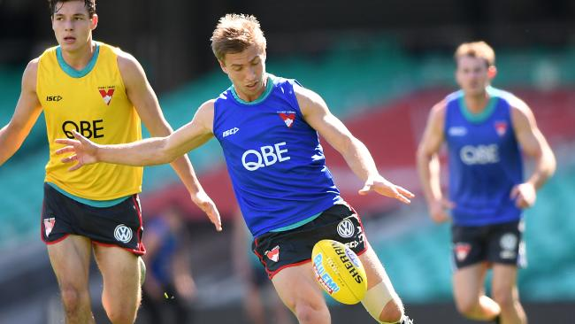 Kieren Jack admits his future is uncertain beyond 2019. Picture: AAP