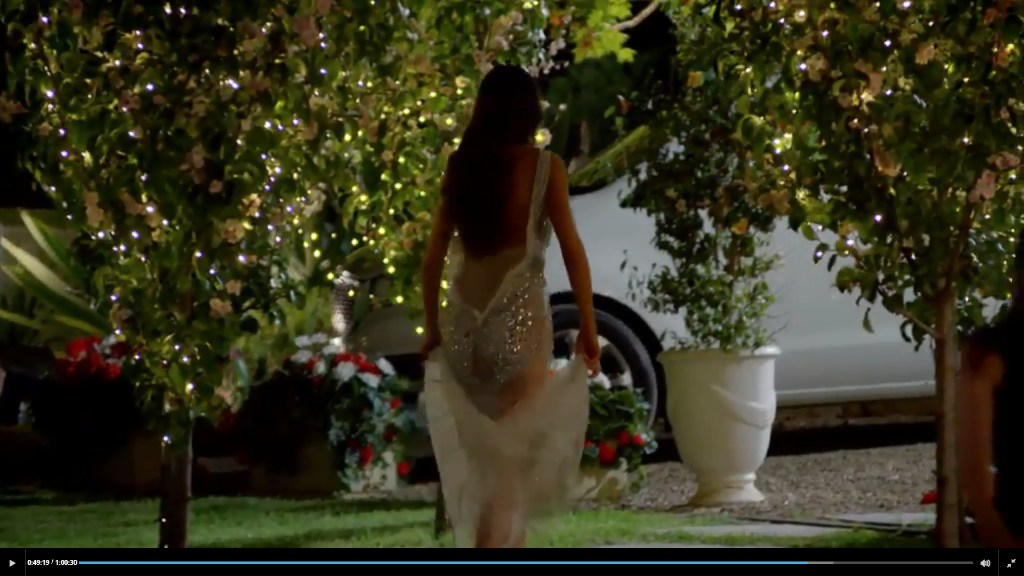 The moment Tenille fled The Bachelor mansion.