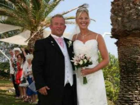 The couple, from Wolverhampton, UK, married in 2009. Picture: Deadline News