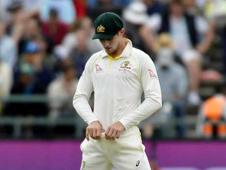 Cameron Bancroft copped a nine-month ban over his part in the ball-tampering scandal. Picture: Getty