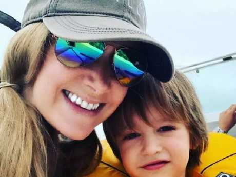 Rachael Bland with her beloved son, two-year-old Freddie.