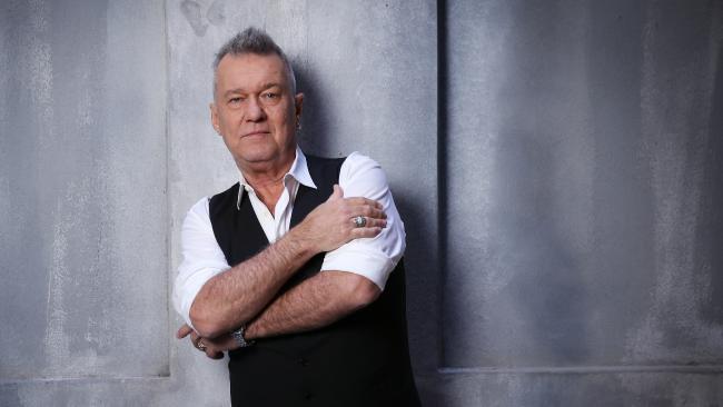 Will Aussie rock legend Jimmy Barnes play the AFL Grand Final? Pic, Sam Ruttyn