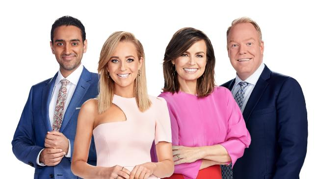 Network Ten's newsreaders and presenters must undergo voice coaching as part of a push from new American owners CBS to give bulletins a more grandiose sound Picture: Supplied/ Ten