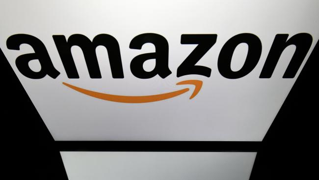 Online retail company Amazon has hit $1 trillion in stock market value in the latest demonstration of the rising clout of American technology heavyweights. Picture: AFP