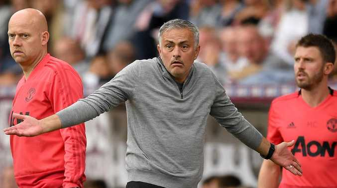 Jose Mourinho, Manager of Manchester United has reportedly accepted to pay a fine corresponding to 60 per cent of the amount he allegedly hid from the taxman. Picture: Getty Images