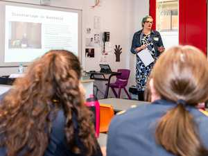 St Joseph's students learn about the homelessness