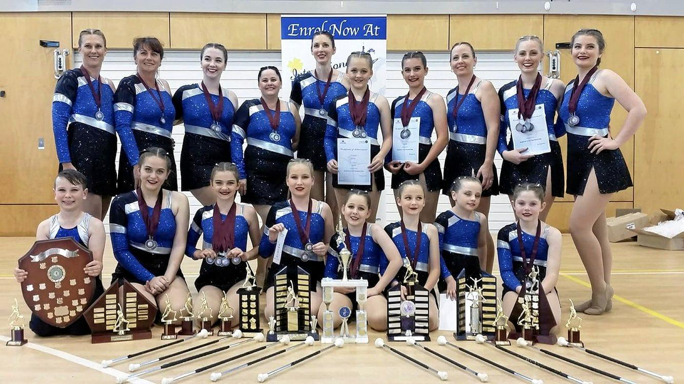 Title-winning baton twirling team are ready to give a stunning performance to MECC audiences