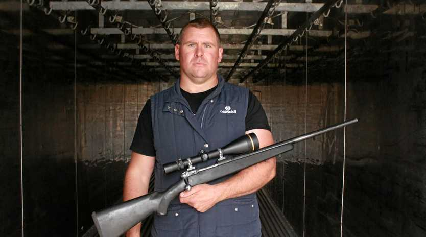 Crack shot Lucas Riley could have slayed thousands of kangaroos and helped hundreds of farmers in the past eight months.