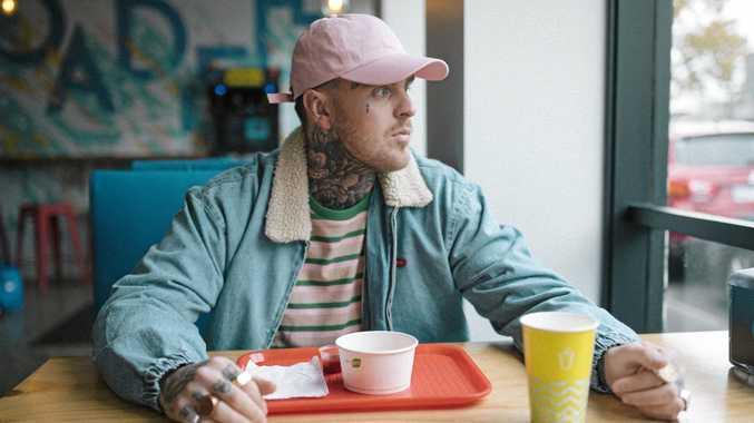 Rapper shows human side of hip-hop