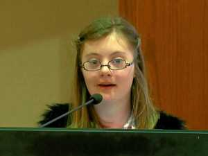 Girl's speech on abortion brings house to tears