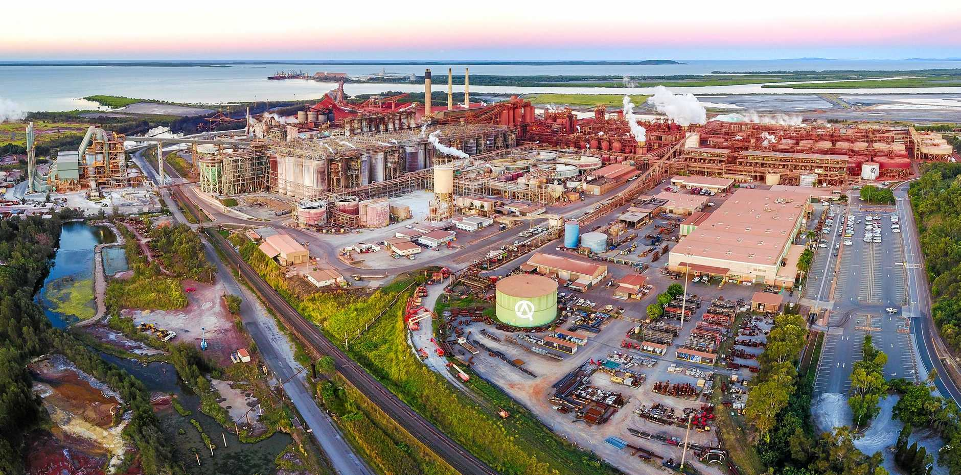 REFINING BUSINESS: International industry delegates will tour Queensland Alumina Limited next week as part of a five-day alumina conference held in Gladstone.