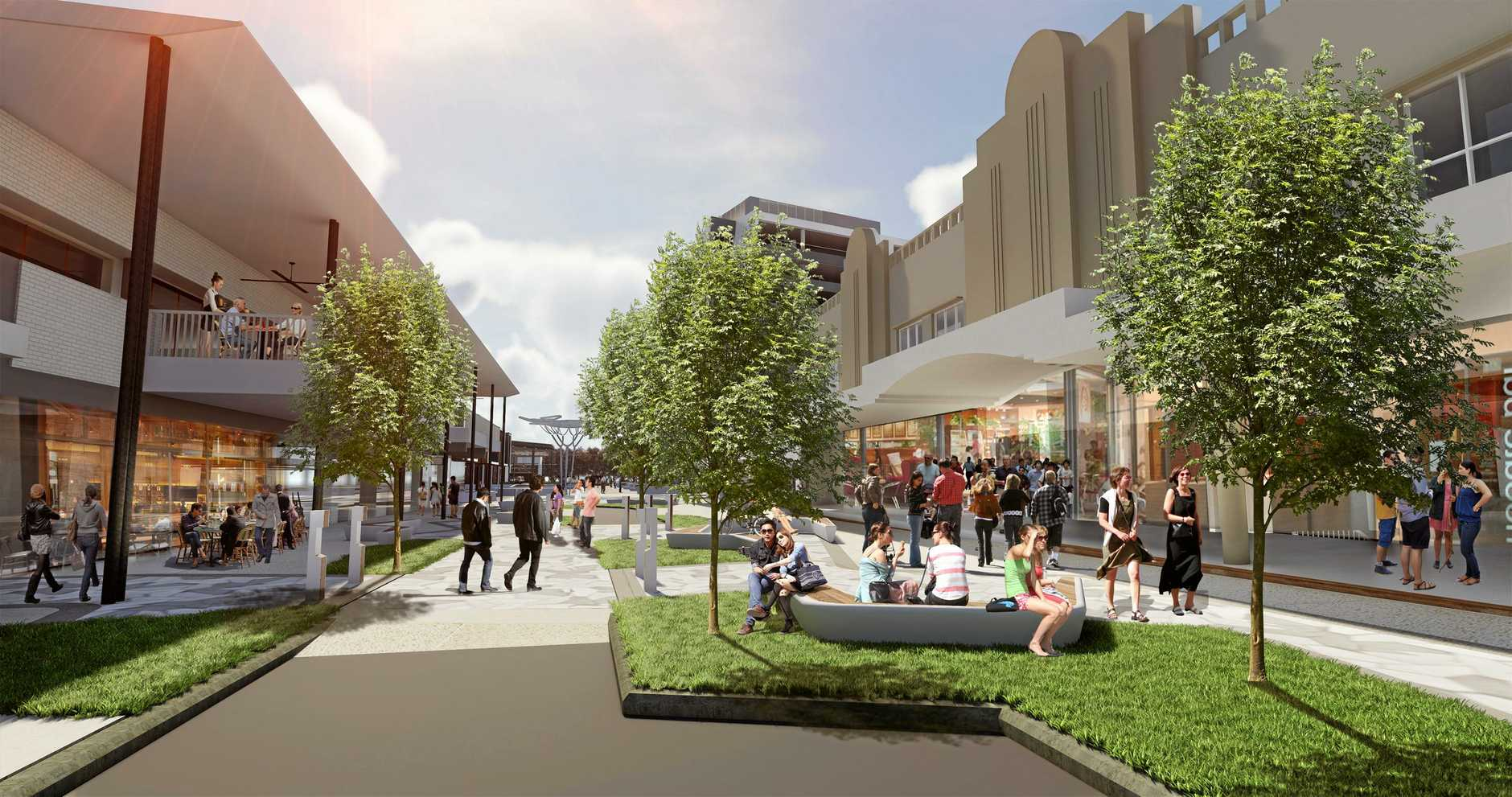 Nicholas St in Ipswich is set to be transformed as part of the CBD upgrades.