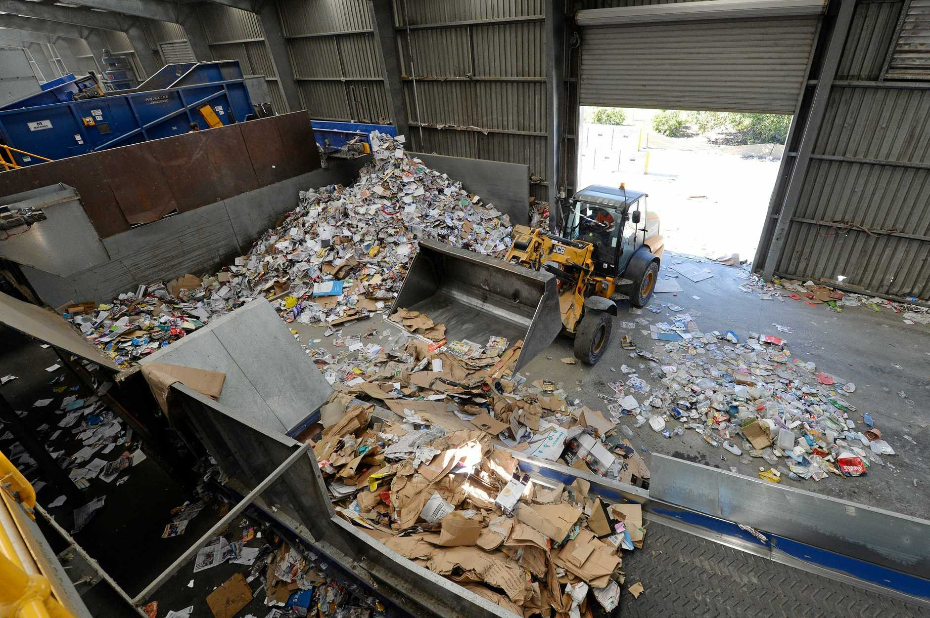 Mackay Regional Council's Materials Recovery Facility at Paget