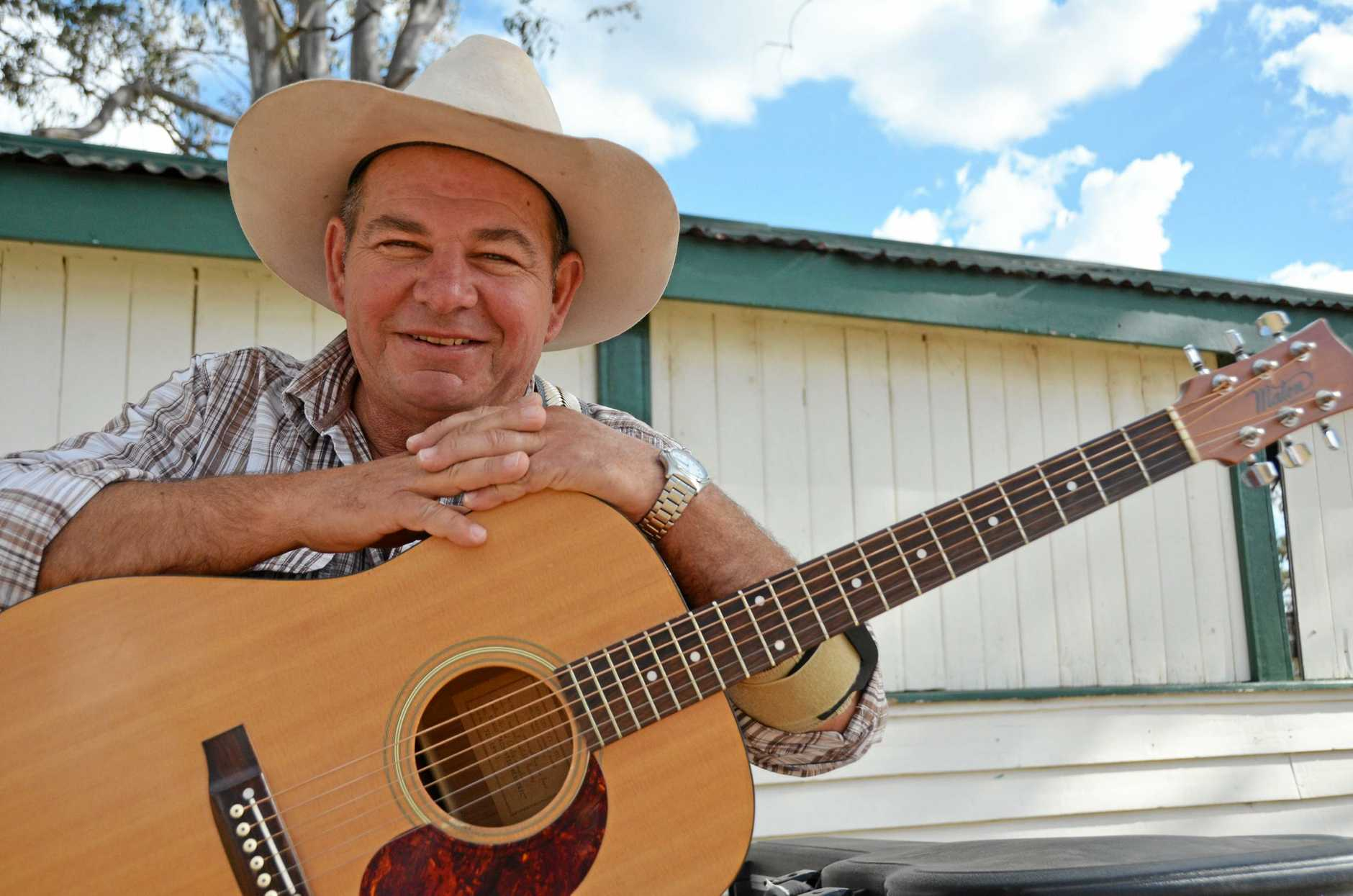VETERAN PERFORMER: Tom Maxwell has been to almost every Nanango Country Muster.