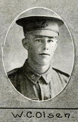 WC Olsen, who buried Freddy Williams.