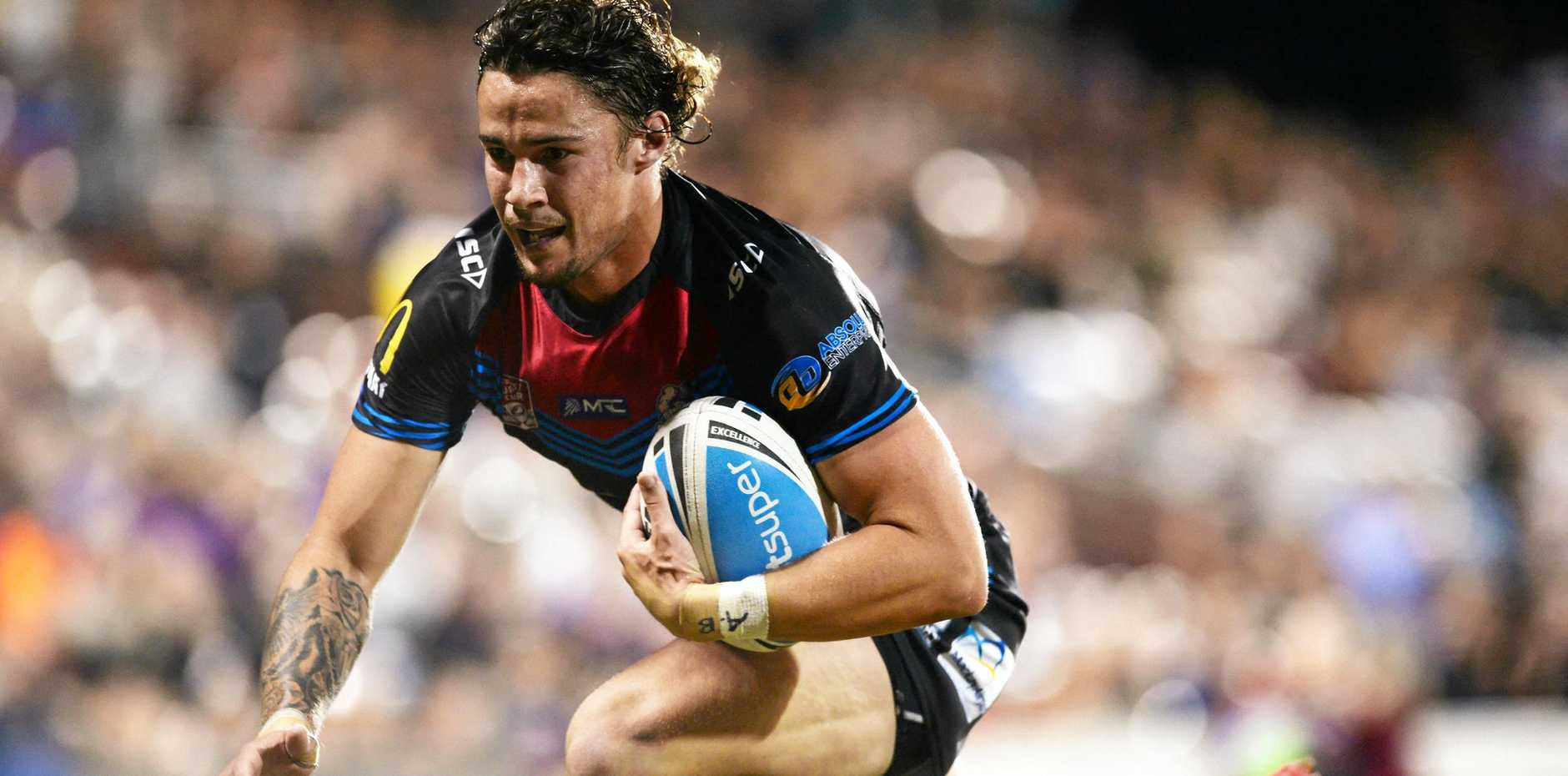 Talented five-eighth Nicho Hynes will join Falcons HQ from the Mackay Cutters.