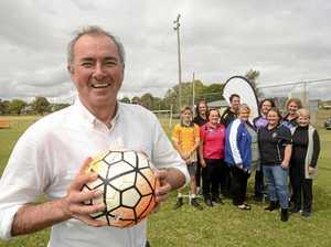 FUNDING RUSH: Football big winner with State grants