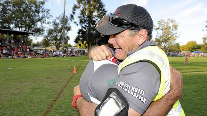 Outgoing South Grafton Rebels secretary Terry Power has been at the centre of the club's recent success.