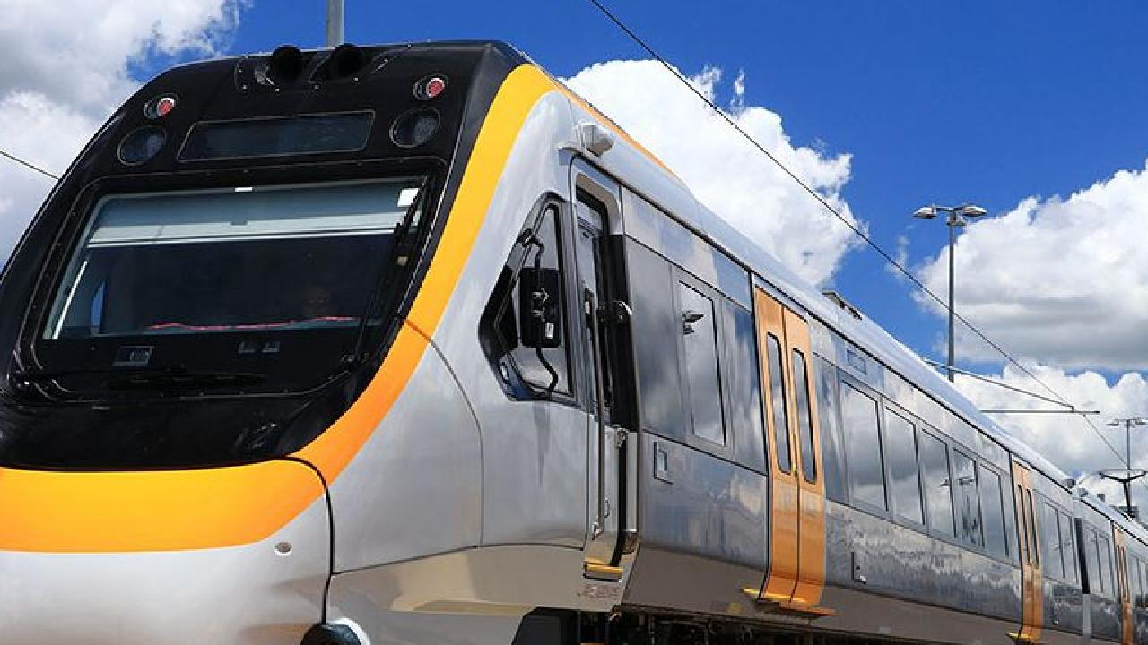 The Gold Coast train line is suspended in both directions after a police incident on the tracks at Pimpama.