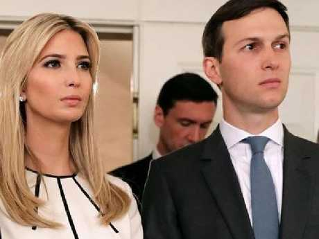 Jared Kushner and Ivanka Trump. Picture: Supplied
