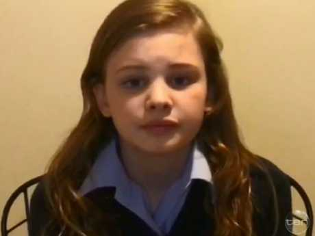 Evie said she was forced into conversion therapy and had to pretend to be a boy at school. Picture: Channel 10