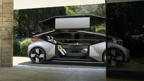Interior design: Driverless cars will alter car cabins.