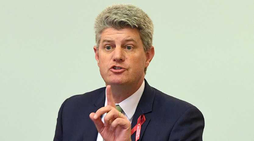 Local Government Minister Stirling Hinchliffe. Picture: AAP/Dave Hunt
