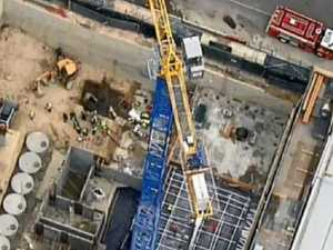 Worker killed in horror crane accident