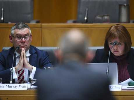 A Senate Inquiry is under way in Canberra, looking at Peter Dutton's ministerial interventions. Picture: AAP
