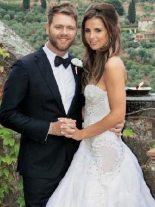 Vogue Williams married Brian McFadden in 2012. Picture: Twitter