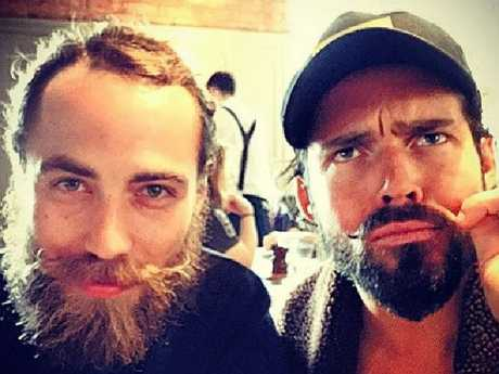 Spencer Matthews pictured with James Middleton, the brother of Kate and Pippa. Picture: Instagram