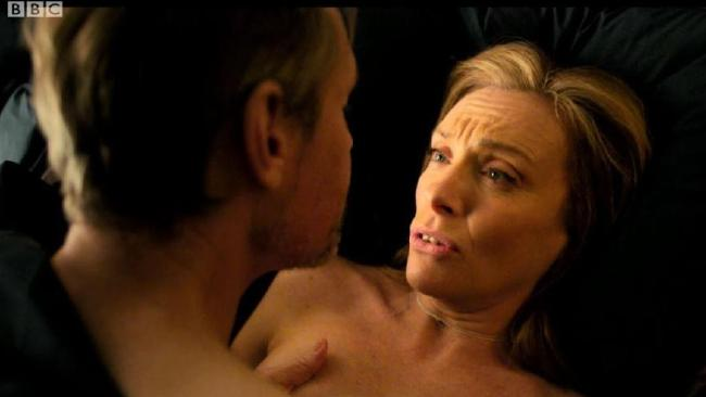 Toni Collette in X-rated drama Wanderlust. Picture: BBC